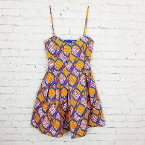 Zara Trafaluc Printed Mini Dress